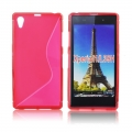 Back Case S-line - SON Xperia Z1 Compact red