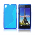 Back Case S-line - SON Xperia Z1 Compact blue