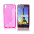 Back Case S-line - SON Xperia Z1 Compact pink