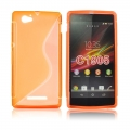 Back Case S-line - SON Xperia Z1 Compact orange