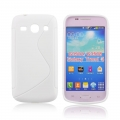 Back Case S-line - SAM G350/G3502 Galaxy Core Plus white