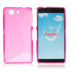 Back Case S-line - SON Xperia Z3 Compact pink