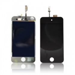 TOUCH SCREEN + LCD iPOD TOUCH 4 BLACK