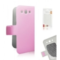 BOOK SLIM CASE SAM i9300 GALAXY S3 PINK [BOX]
