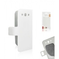 BOOK SLIM CASE SAM i9300 GALAXY S3 WHITE [BOX]