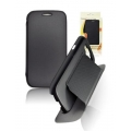 BOOK CASE SAM I9300 GALAXY S3 BLACK