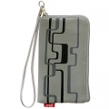CHIC POCKET CASE WITH ZIPPER - GRAY (13x7cm)