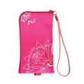 CHIC POCKET CASE WITH ZIPPER - FLEXI PINK (13x7cm)