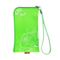 CHIC POCKET CASE WITH ZIPPER - FLEXI GREEN (13x7cm)