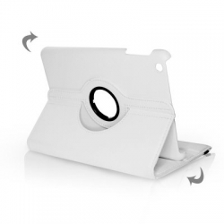 BOOK CASE IPAD MINI ROTATED WHITE