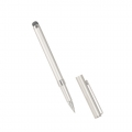 2in1 Touch stylus with pen silver